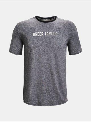 Tričko Under Armour UA RECOVER SS - Černá