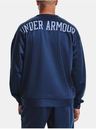 Mikina Under Armour UA RECOVER LS CREW - Tmavě modrá