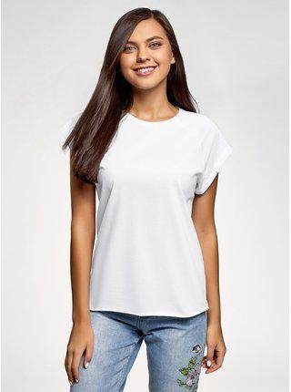 Tričko bavlněné (sada 3 ks) OODJI