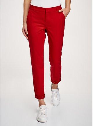 Kalhoty klasické z bavlny OODJI