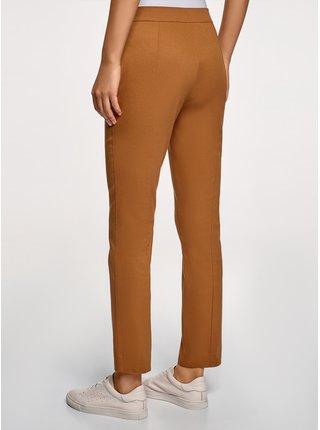 Kalhoty bavlněné s ozdobnými kapsami OODJI