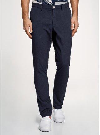 Kalhoty zúžené pruhované OODJI
