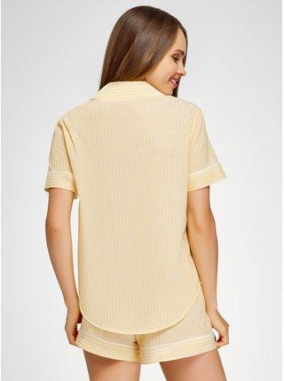Košile domácí z bavlny OODJI