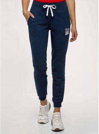 Kalhoty úpletové sportovní OODJI