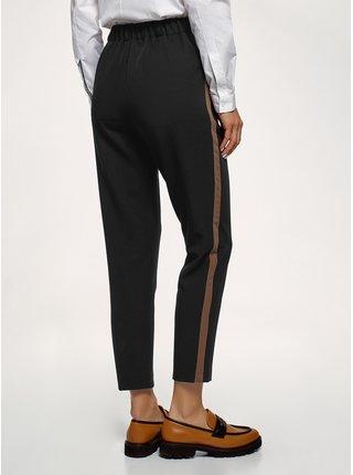 Kalhoty rovné s lampasy OODJI
