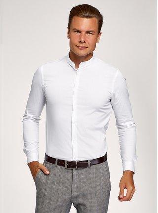 Košile vypasovaná se stojáčkem  OODJI