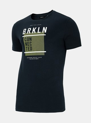 Pánské tričko Outhorn TSM619 Modrá