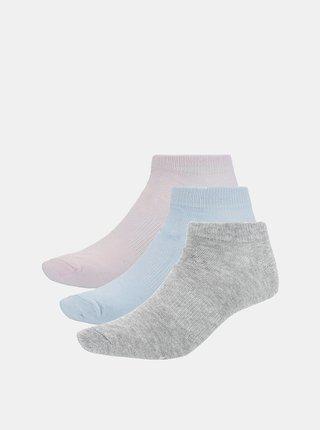 Dámské ponožky Outhorn SOD600A  Růžová