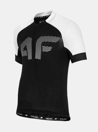 Pánské cyklistické tričko 4F RKM450  Černá