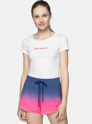 Dámské tričko 4F TSD249  Bílá