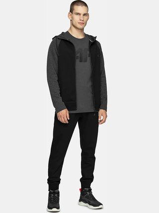 Pánské tričko 4F TSM302  dark grey solid
