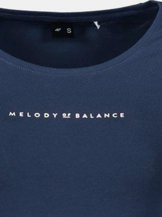 Dámské tričko 4F TSD237 Tmavě modrá