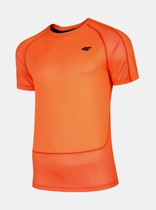 Pánské tréninkové tričko 4F TSMF014  Oranžová