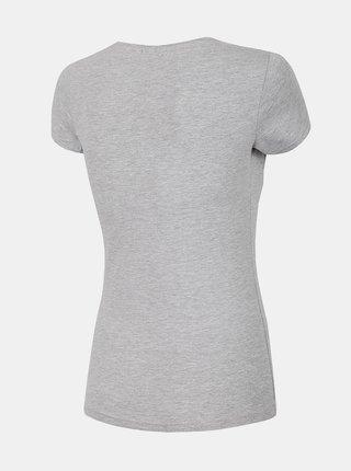 Dámské tričko 4F TSD300  Šedá