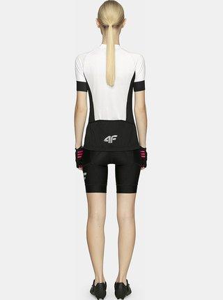 Dámské cyklistické tričko 4F RKD451  Bílá