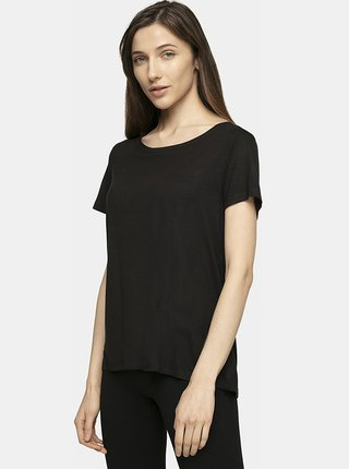 Dámské tričko 4F TSD307  Černá