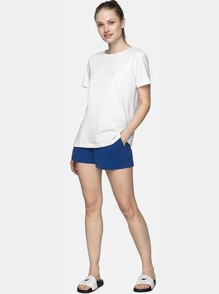 Dámské tričko 4F TSD304  Bílá