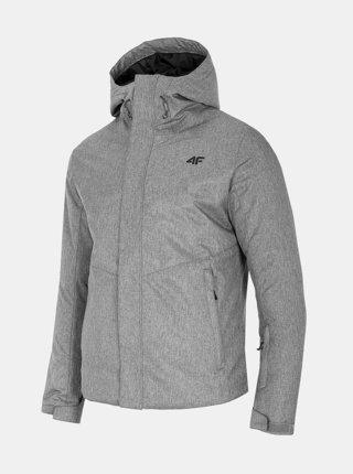 Pánská lyžařská bunda 4F KUMN351  Šedá