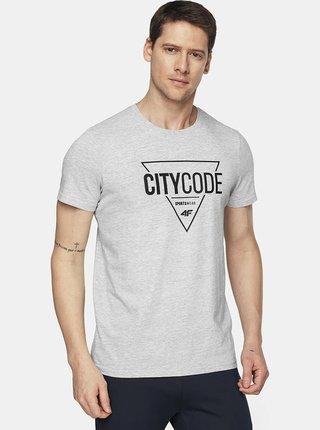 Pánské tričko 4F TSM011  Šedá