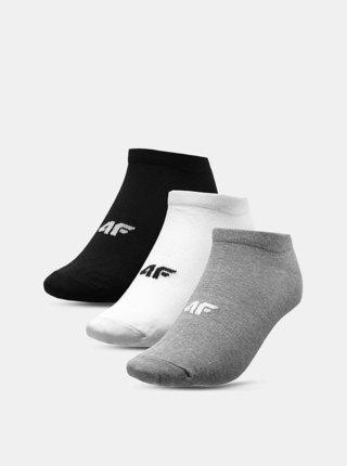 Pánské ponožky 4F SOM301A  Šedá