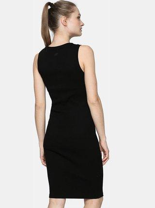 Dámské šaty 4F SUDD301  Černá
