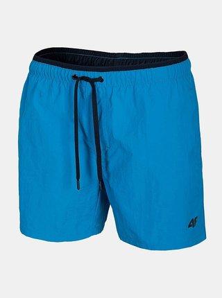 Pánské plážové šortky 4F SKMT208  Modrá