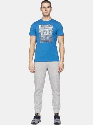 Pánské tričko 4F TSM229  Modrá