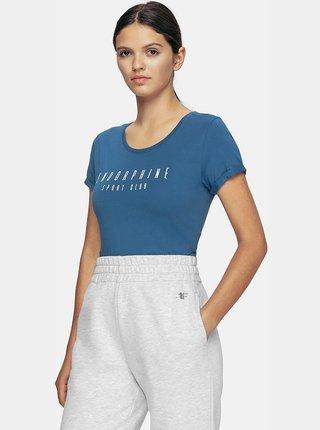 Dámské tričko 4F TSD201 Modrá