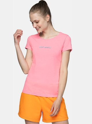Dámské tričko 4F TSD249  Růžová