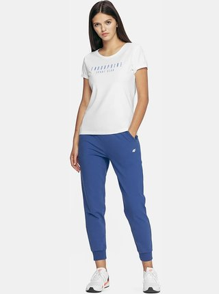 Dámské tričko 4F TSD201  Bílá