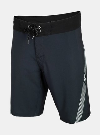 Pánské plážové šortky 4F SKMT003  Černá