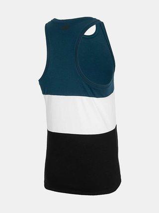 Pánské tričko bez rukávů 4F TSM303 Tmavě modrá