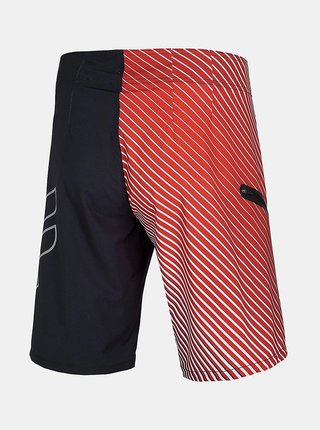 Pánské plážové šortky 4F SKMT004  Červená