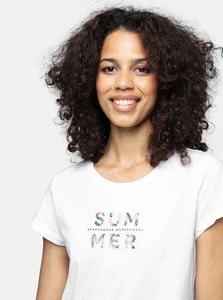 Dámské tričko 4F TSD251  Bílá