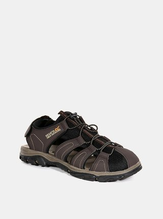 Pánské sandály Regatta RMF600 Westshore II  Hnědá