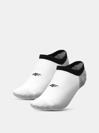 Pánské ponožky 4F SOM200  Bílá