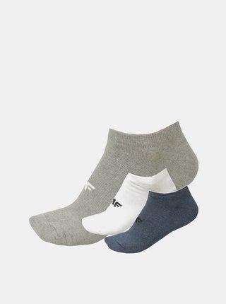 Pánské ponožky 4F SOM301A  Modrá