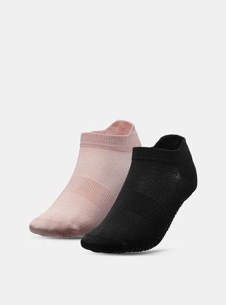 Dámské sportovní ponožky 4F SOD209  Růžová