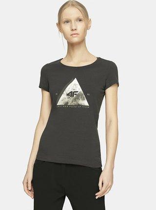 Dámské tričko 4F TSD060 Šedá