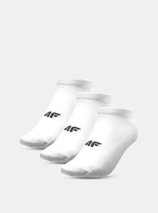 Dámské ponožky 4F SOD302A  Bílá