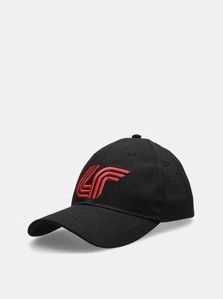 Pánská čepice s kšiltem 4F CAM201  Černá