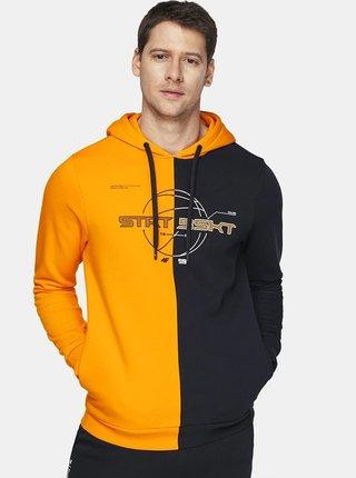 Pánská mikina 4F BLM216  Oranžová