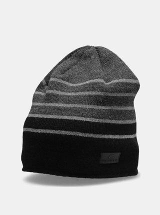 Pánská zimní čepice 4F CAM301 Šedá