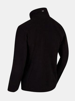 Pánská fleece mikina Regatta RMA192Hedman II  Černá