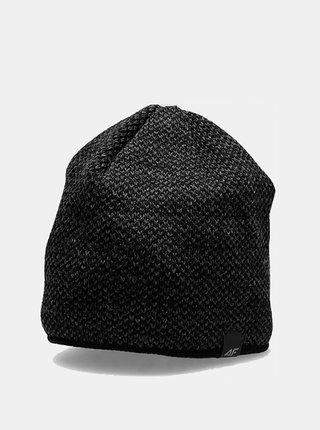 Pánská zimní čepice 4F CAM156  Černá