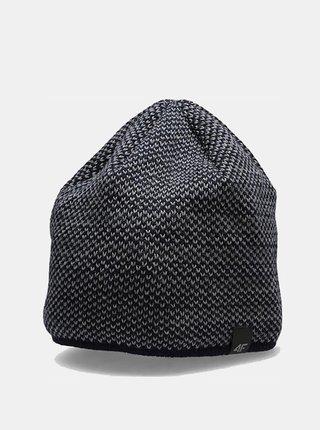 Pánská zimní čepice 4F CAM156 Modrá