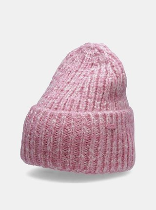 Dámská čepice 4F CAD209  Růžová