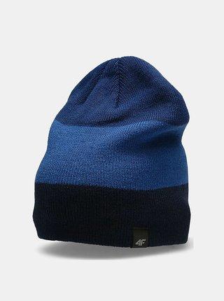 Pánská zimní čepice 4F CAM157 Modrá