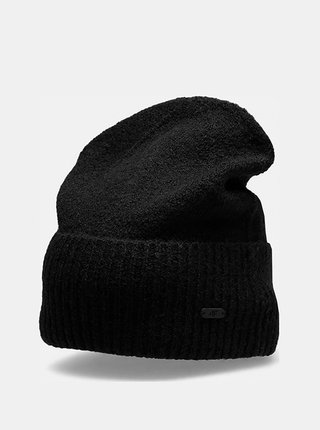 Dámská zimní čepice 4F CAD202  Černá