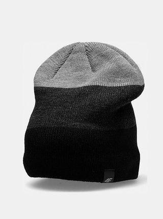Pánská zimní čepice 4F CAM157  Černá
